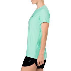 asics SS Top - T-shirt course à pied Femme - vert